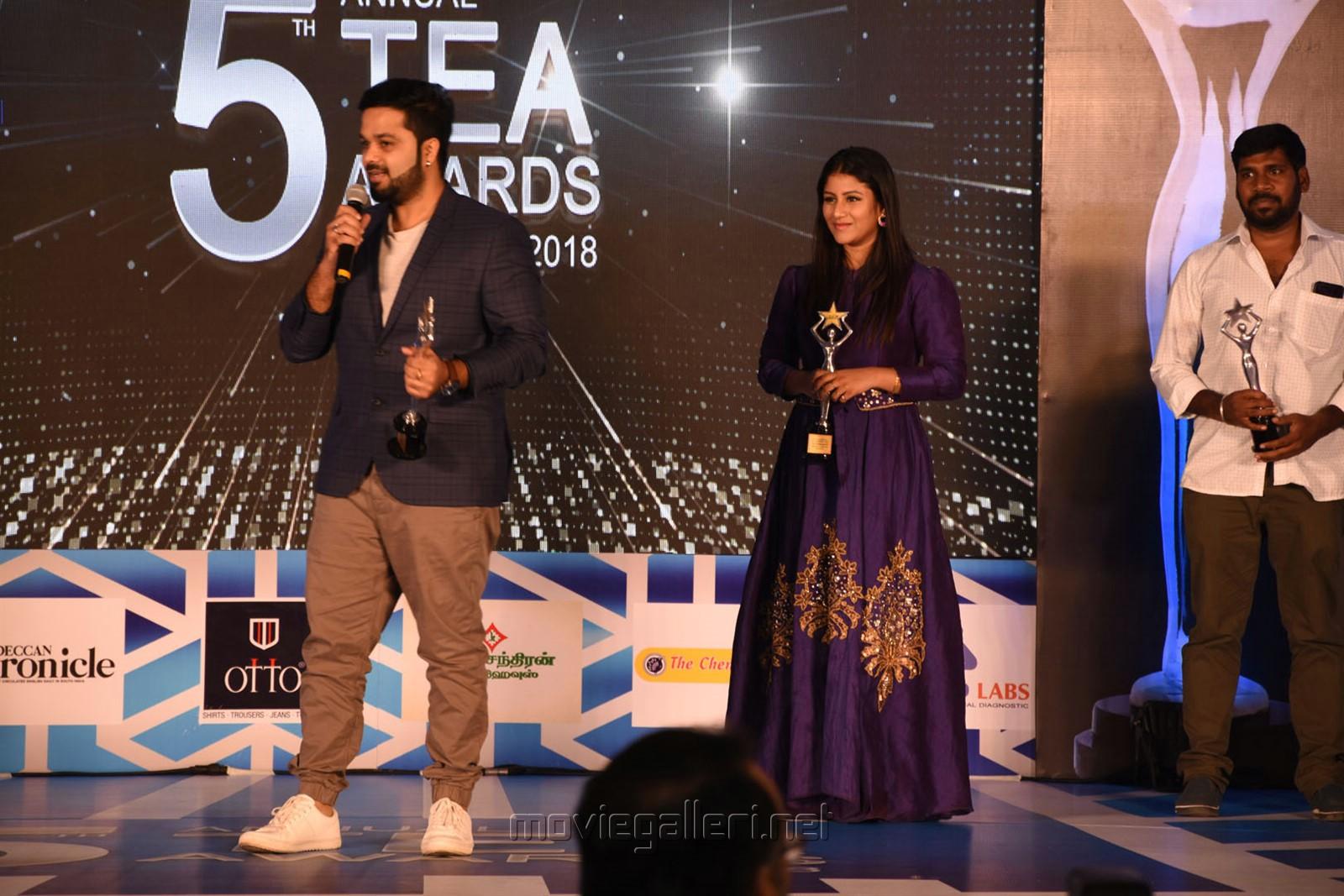 Sanjeev, Alya Manasa @ 5th Annual TEA Awards Photos