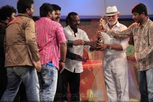 Choreographer Sundaram Master was awarded the 'Contribution to the Tamil cinema' award.