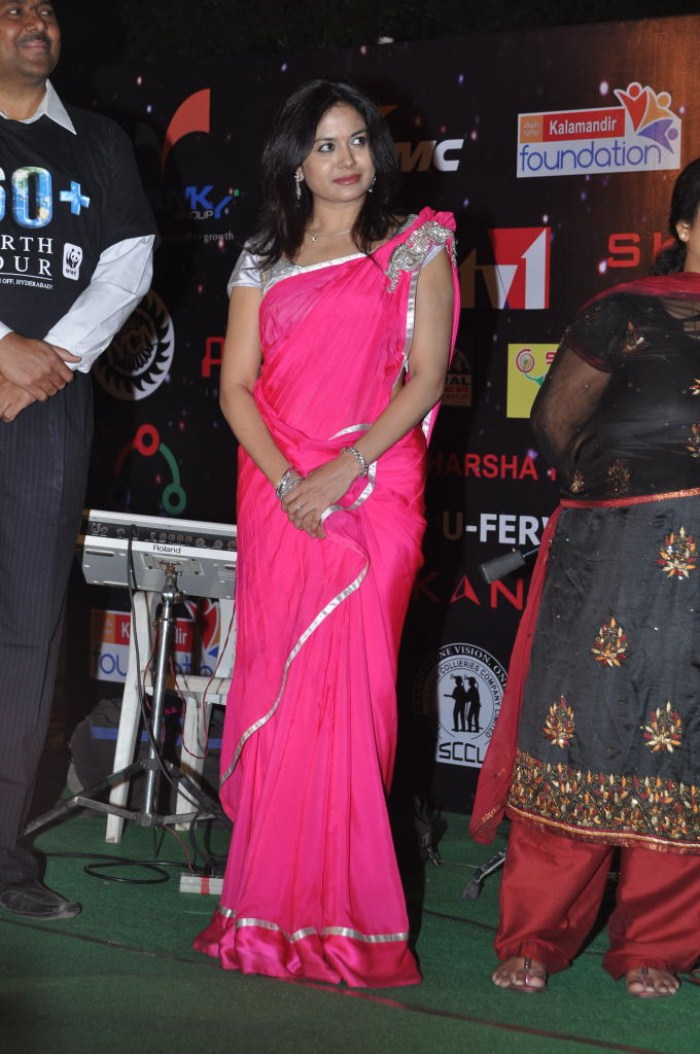 Singer Sunitha at 60 Earth Hour 2012 Switch Off Event Stills