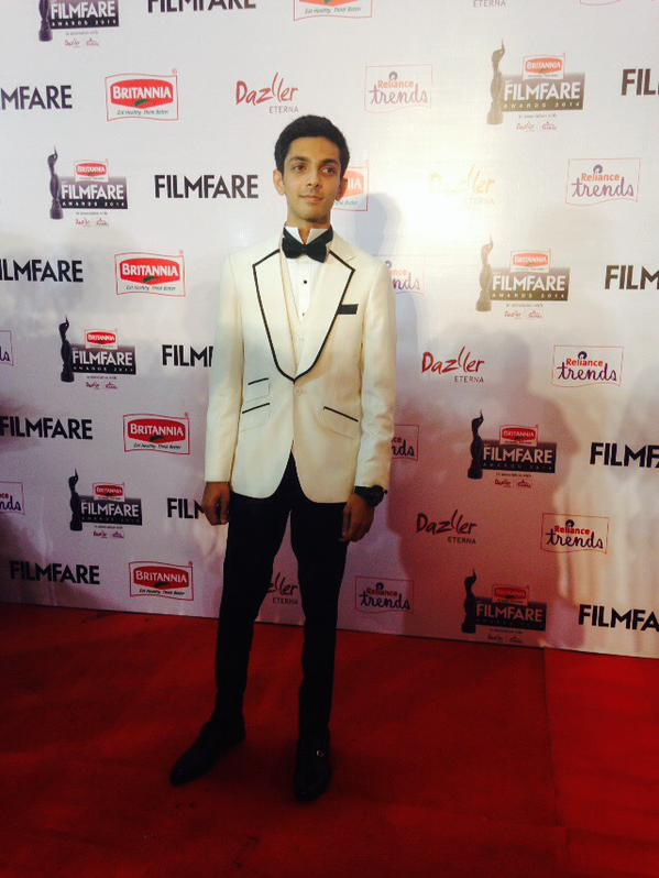 Anirudh @ 62nd Filmfare Awards South 2015 Images