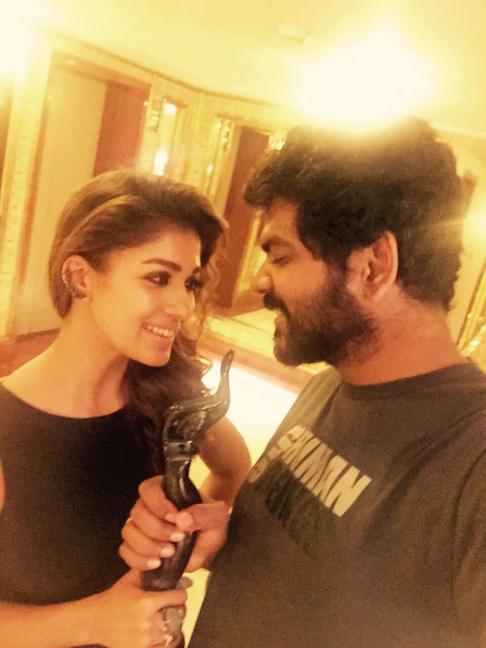 Nayanthara, Vignesh Shivan @ 63rd Britannia Filmfare Awards South 2016 Stills
