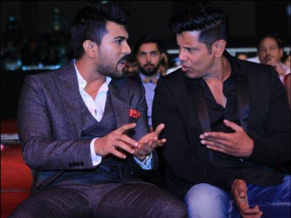 Ram Charan, Vikram @ 63rd Britannia Filmfare Awards South 2016 Stills