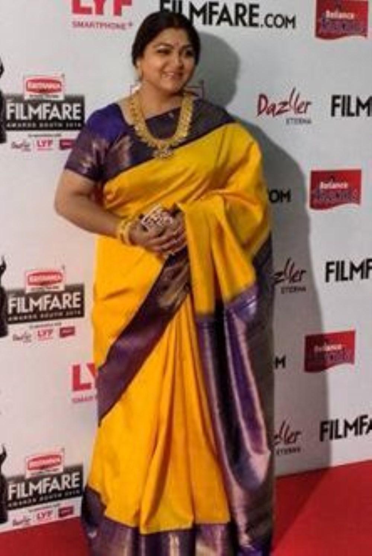 Kushboo Sundar @ 63rd Britannia Filmfare Awards South 2016 Stills