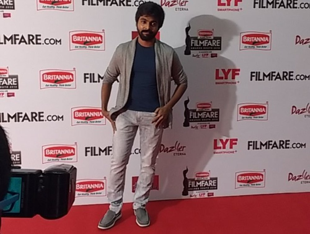 GV Prakash Kumar @ 63rd Britannia Filmfare Awards South 2016 Stills