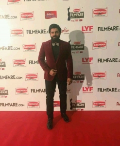 Nivin Pauly @ 63rd Britannia Filmfare Awards South 2016 Stills