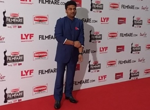 Devi Sri Prasad @ 63rd Britannia Filmfare Awards South 2016 Stills