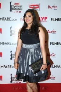 Singer Geetha Madhuri @ 63rd Filmfare Awards South 2016 Red Carpet Stills