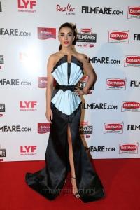 Amy Jackson @ 63rd Filmfare Awards South 2016 Red Carpet Stills