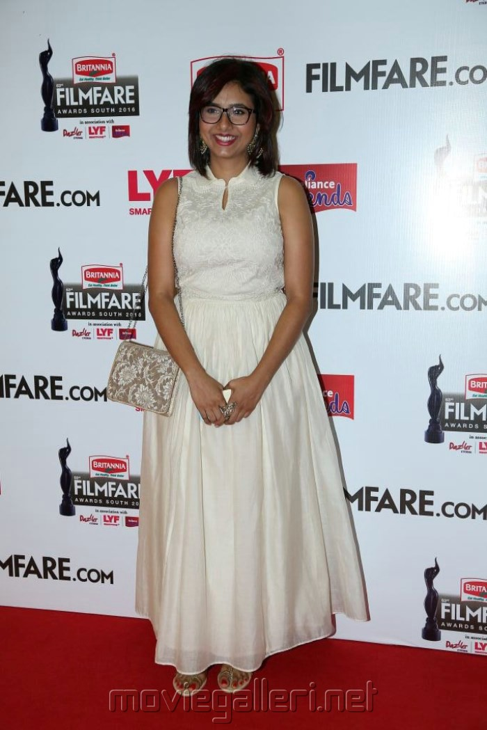 63rd Filmfare Awards South 2016 Red Carpet Stills
