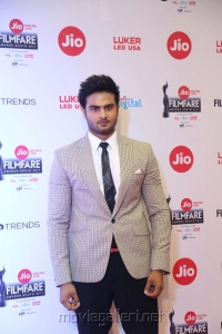 Actor Sudheer Babu @ 64th Jio Filmfare Awards South 2017 Event Images