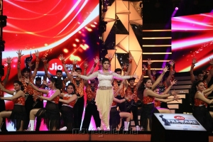 Actress Dance @ 64th Jio Filmfare Awards South 2017 Event Images