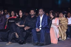 Jyothika, Suriya, AR Rahman @ 64th Jio Filmfare Awards South 2017 Event Images