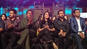 Karthi, Prakash Raj, Jyothika, Suriya, AR Rahman @ 64th Jio Filmfare Awards South 2017 Event Images