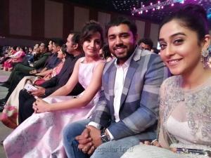 Trisha, Nivin Pauly, Regina Cassandra @ 64th Jio Filmfare Awards South 2017 Event Images