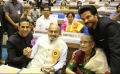 Akshay Kumar, K Viswanath, Anil Kapoor @ 64th National Film Awards 2016 Photos