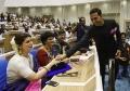 Twinkle Khanna, Akshay Kumar @ 64th National Film Awards 2016 Photos