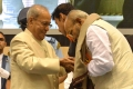 Veteran filmmaker K Viswanath was honoured with Dadasaheb Phalke Award @ 64th National Film Awards 2016 Photos