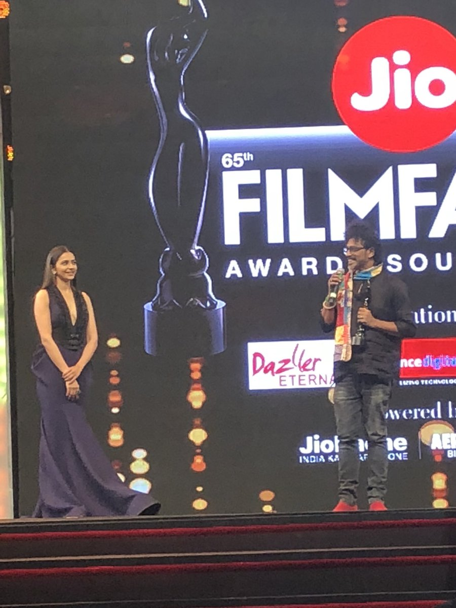 65th Jio Filmfare Awards South Red Carpet Stills