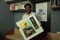 Cheran at 7th Annual Vijay Awards Nominees 2013 Painting Invitation Photos
