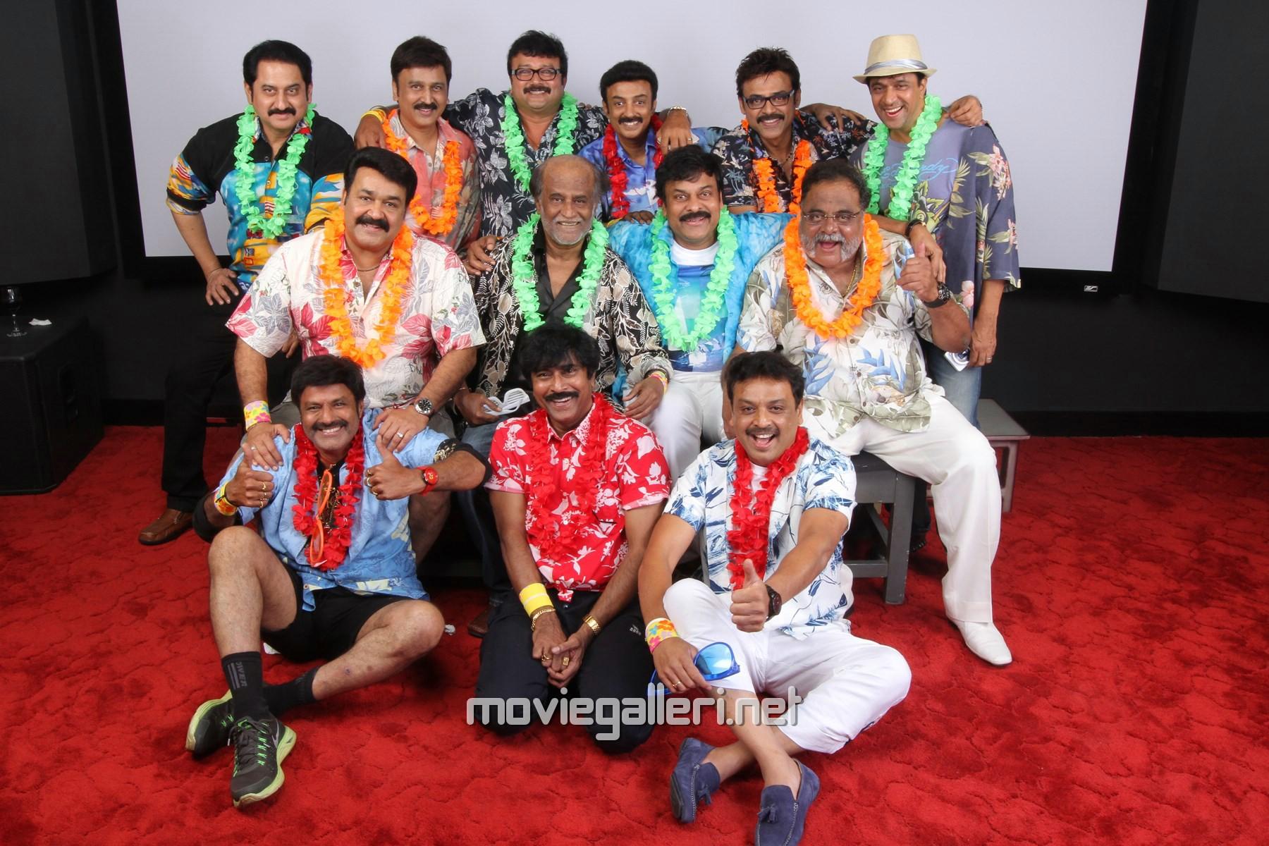 80's Tamil Actors Reunion Party Photos