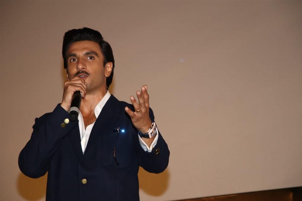 Ranveer Singh @ 83 Movie First Look Launch Stills