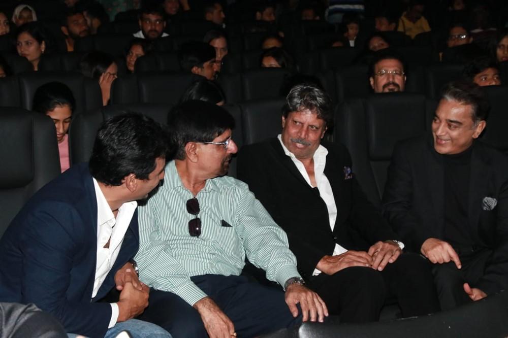 Jiiva, Srikanth, Kapil Dev, Kamal @ 83 Movie First Look Launch Stills