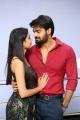 Neha Solanki, Kartikeya @ 90 ML Movie Success Meet Photos