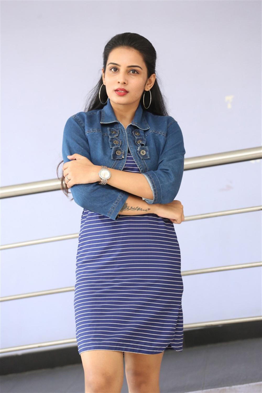 Actress Shree Gopika @ 90ml Movie Audio Launch Stills