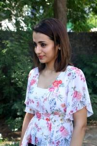 Heroine Trisha Latest Images @ 96 Movie Press Meet