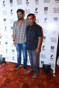 C Prem Kumar, Thirumurugan Gandhi @ 96 Movie 100 Days Celebrations Stills