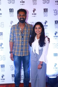 C Prem Kumar, Gouri G Kishan @ 96 Movie 100 Days Celebrations Stills