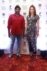 Vijay Sethupathi, Trisha Krishnan @ 96 Movie 100 Days Celebrations Stills