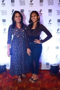 Devadarshini, Niyathi Kadambi @ 96 Movie 100 Days Celebrations Stills