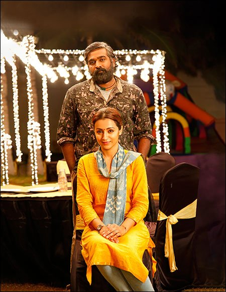 Vijay Sethupathi Trisha 96 Movie Photos