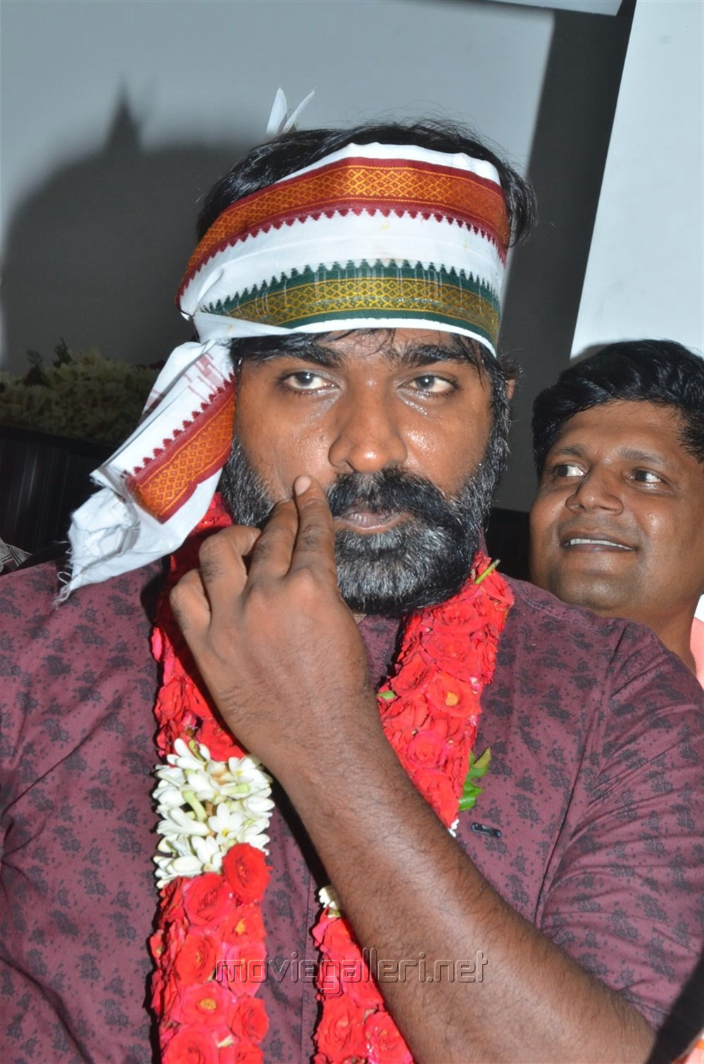Hero Vijay Sethupathi @ 96 Movie Pooja Stills