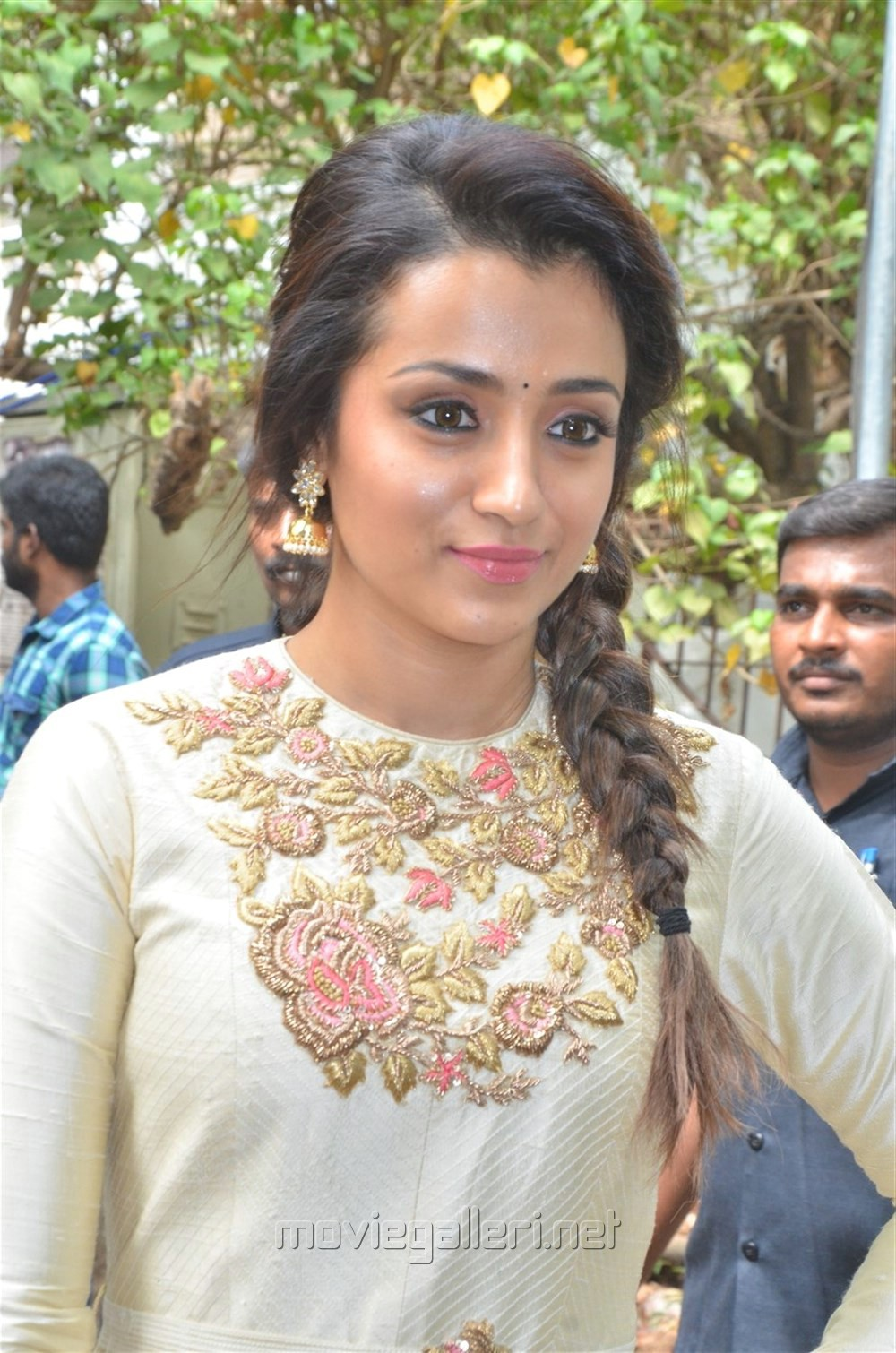 Actress Trisha Krishnan @ 96 Movie Pooja Stills