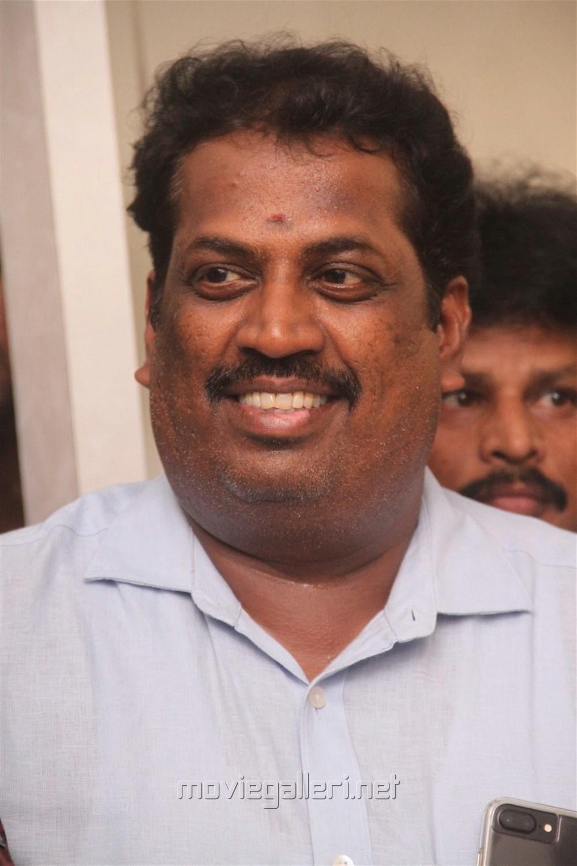 Producer S Nandagopal @ 96 Movie Pooja Stills