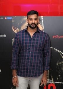 Lyricist Vivek @ 99 Songs Movie Audio Launch Photos