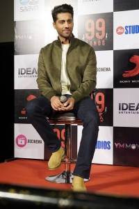 Actor Ehan Bhat @ 99 Songs Movie Press Meet Stills