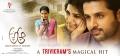 Anupama Parameshwaran, Nithin, Samantha in A Aa Movie Magical Hit Posters