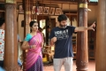 Anupama Parameshwaran, Trivikram Srinivas @ A Aa Movie Working Stills