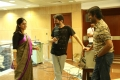 Nadhiya, Trivikram Srinivas, Natraj @ A Aa Movie Working Stills