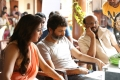 Samantha, Trivikram Srinivas, S Radha Krishna @ A Aa Movie Working Stills