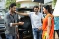 Nithin, Trivikram Srinivas, Anupama Parameshwaran @ A Aa Movie Working Stills