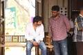 Trivikram Srinivas @ A Aa Movie Working Stills