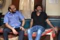 S Radha Krishna, Trivikram Srinivas @ A Aa Movie Working Stills
