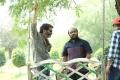 Trivikram Srinivas, S Radha Krishna @ A Aa Movie Working Stills