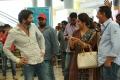 Trivikram Srinivas, Nadhiya @ A Aa Movie Working Stills