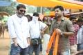 Trivikram Srinivas, Nithin @ A Aa Movie Working Stills