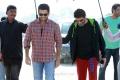Nitin, Trivikram Srinivas @ A Aa Movie Working Stills
